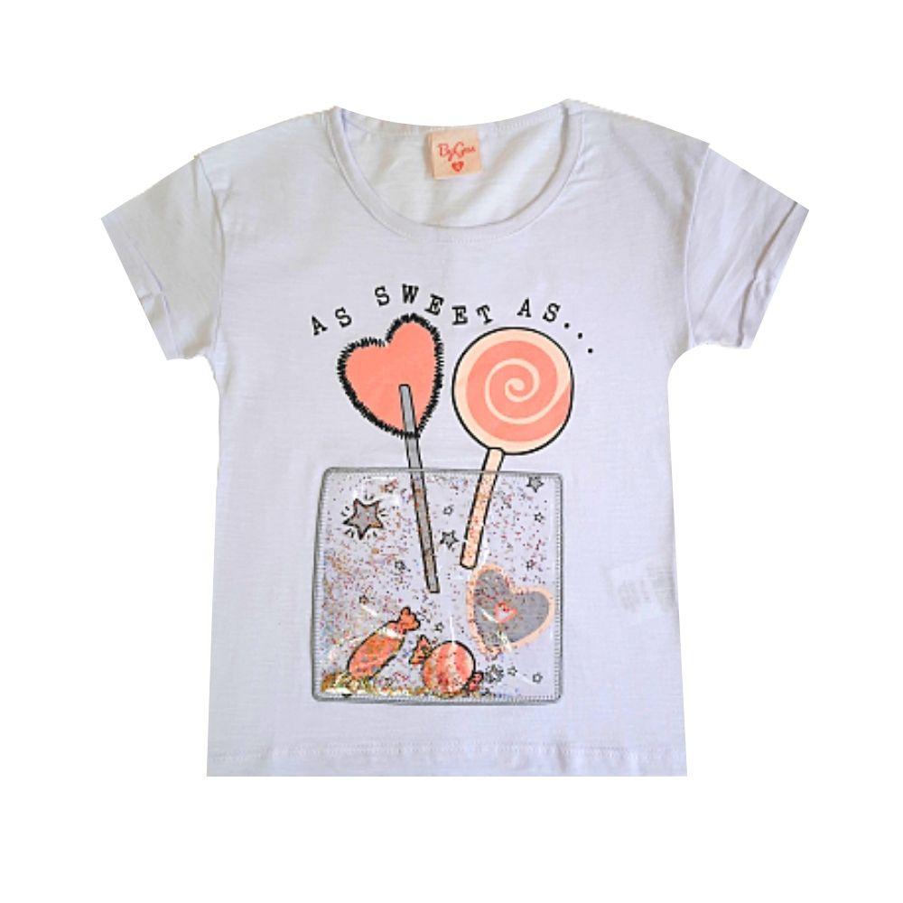 Blusa Infantil Sweet - By Gus