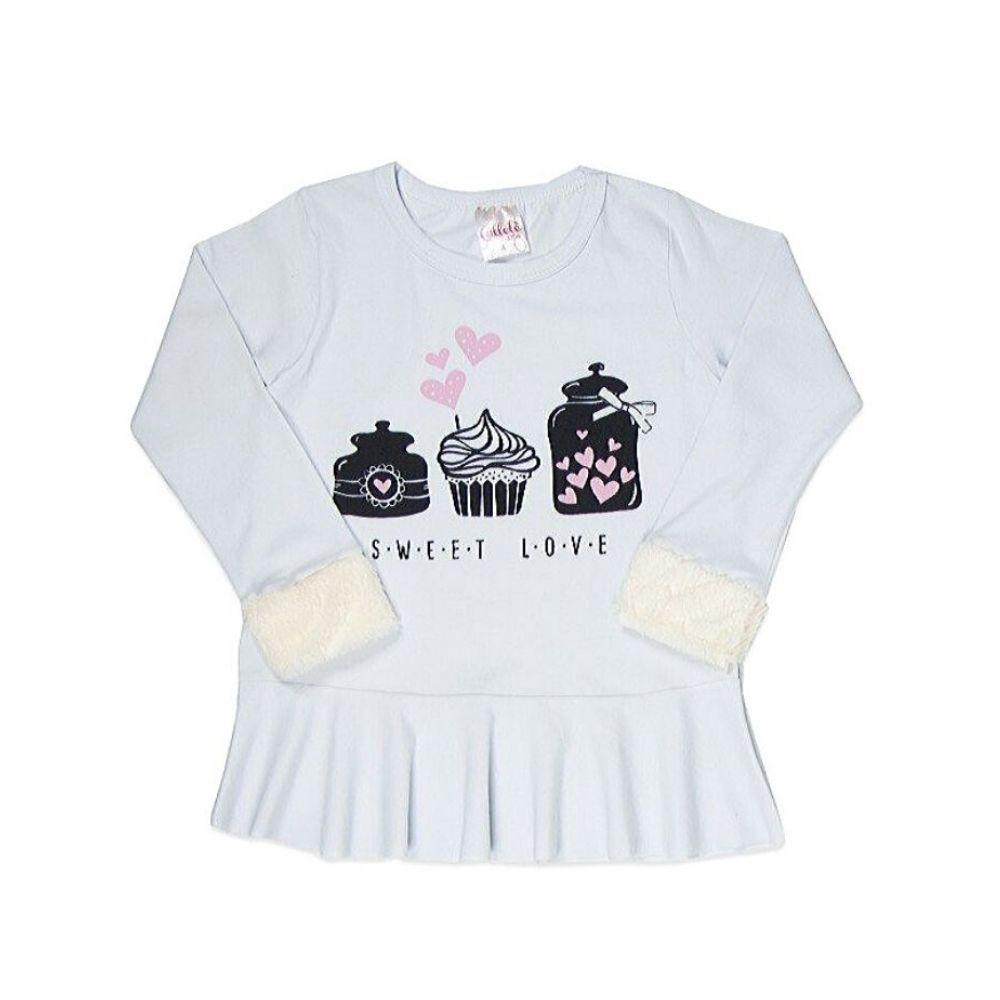 Blusa Infantil Sweet Love-Ollelê Little