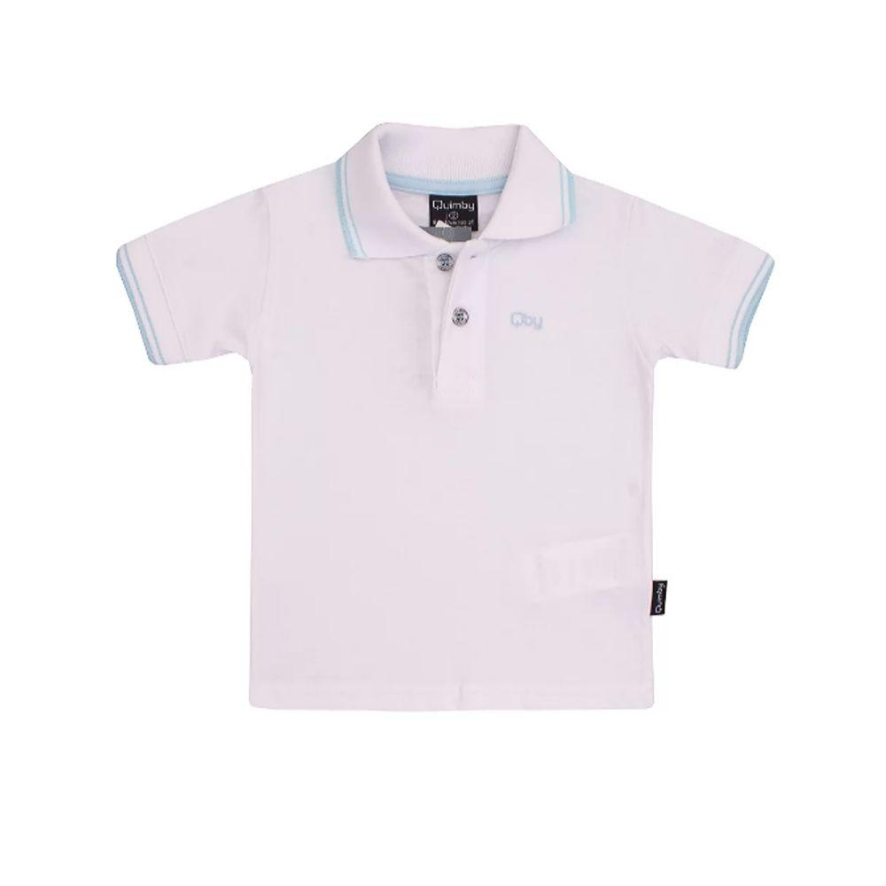 Blusa Polo Infantil - Quimby