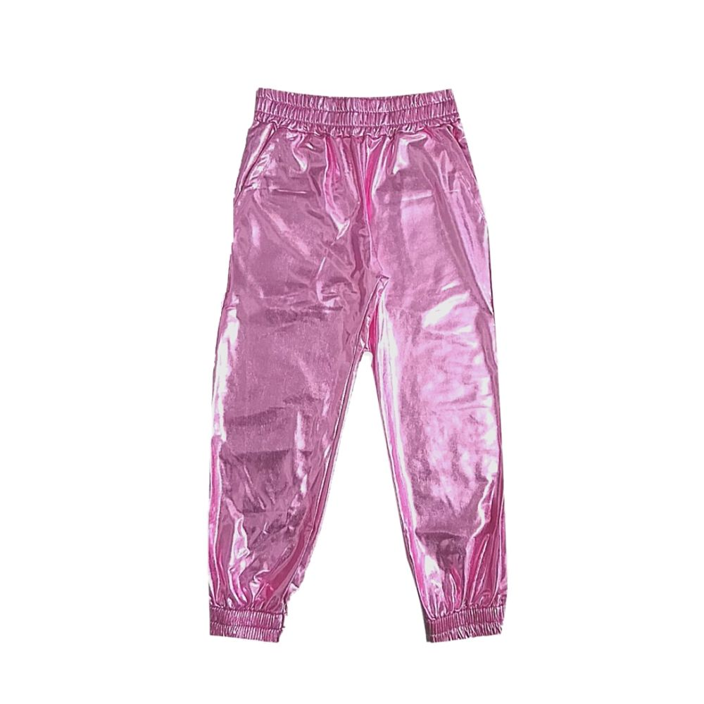 Calça Infantil Cirrê Foil - For Girl