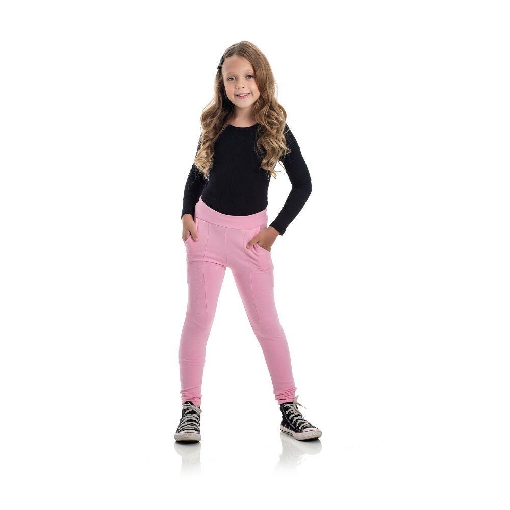 Calça Infantil Molecotton Skinny- For Girl
