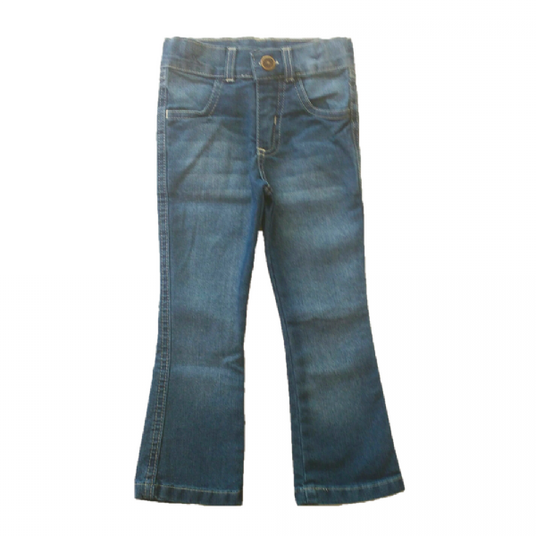Calça Infantil Jeans Flare - Color Mini
