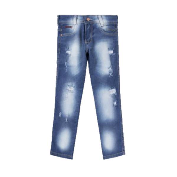 Calça Jeans Infantil- Skinny com Elastano
