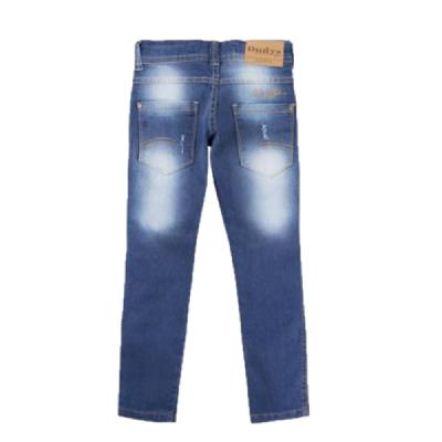 Calça Infantil Jeans Skinny com Elastano