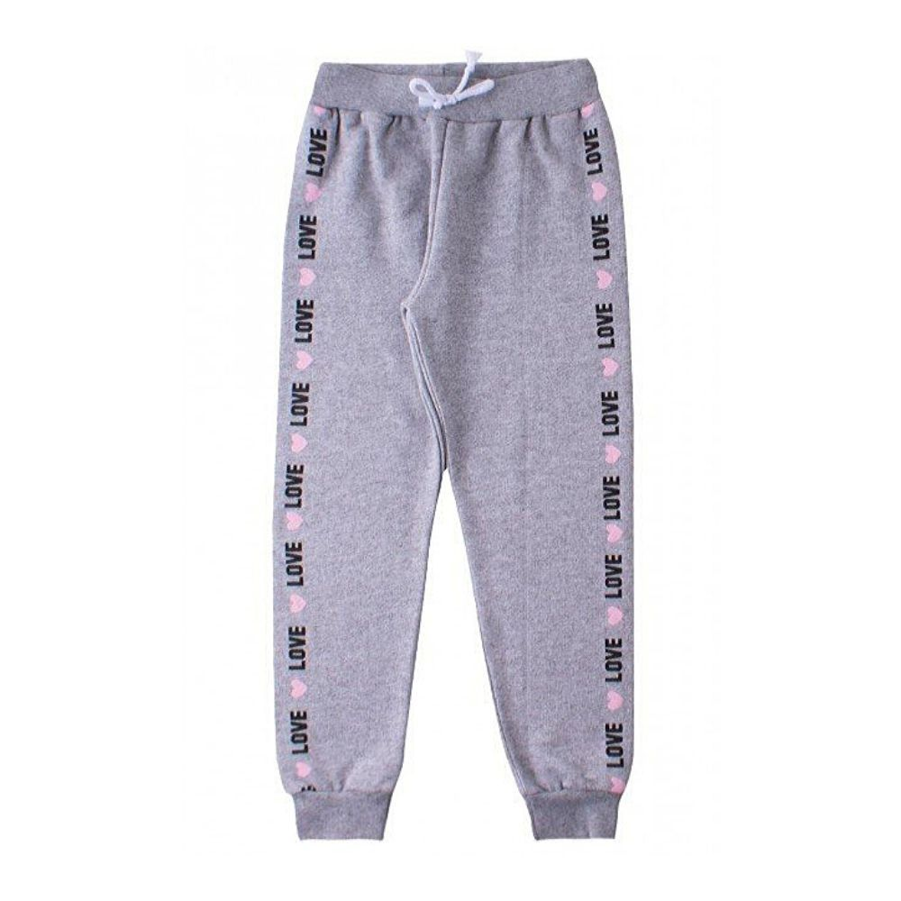 Calça Infantil Moletom Basic Love-Ollelê Little