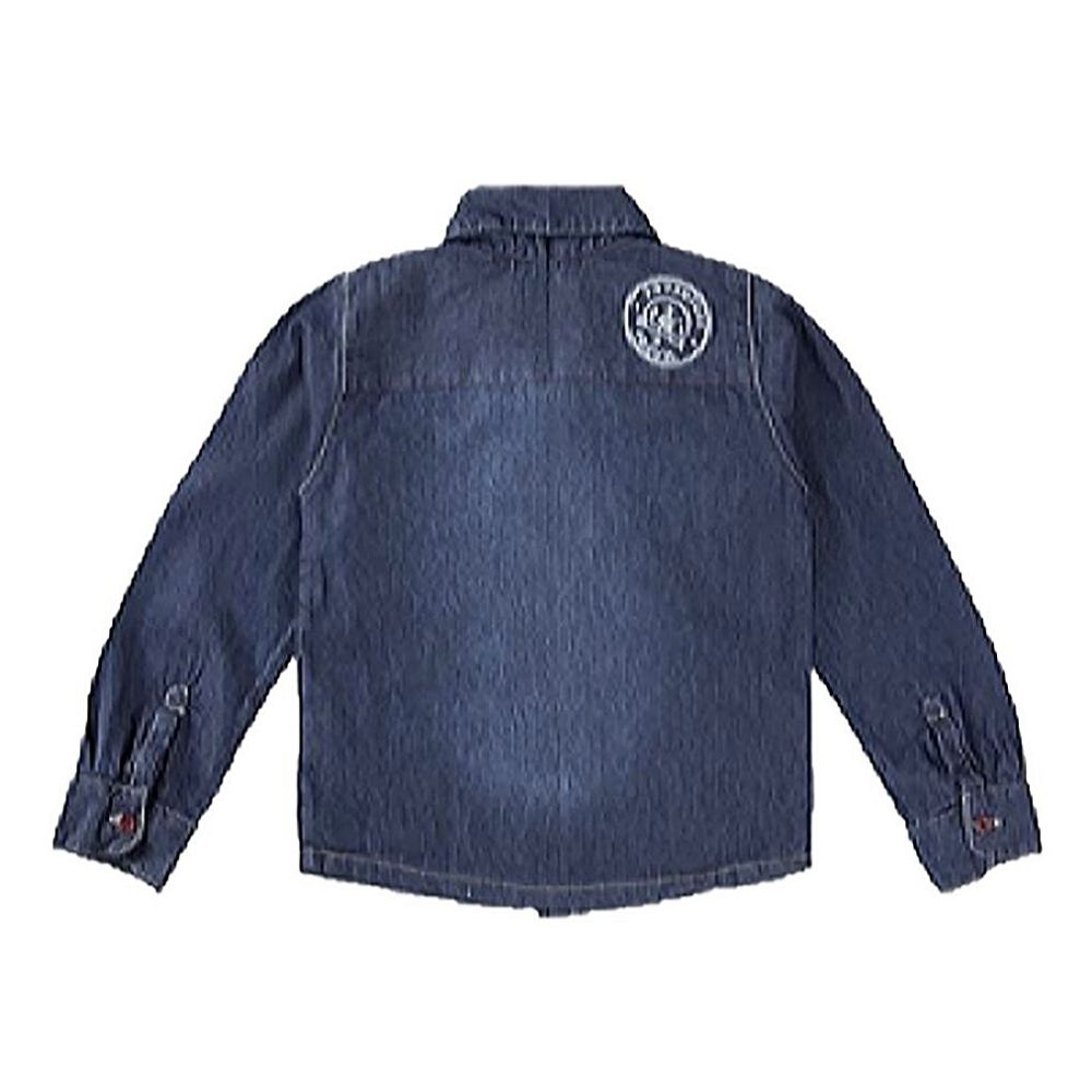 Camisa Infantil Jeans- Clube do Doce