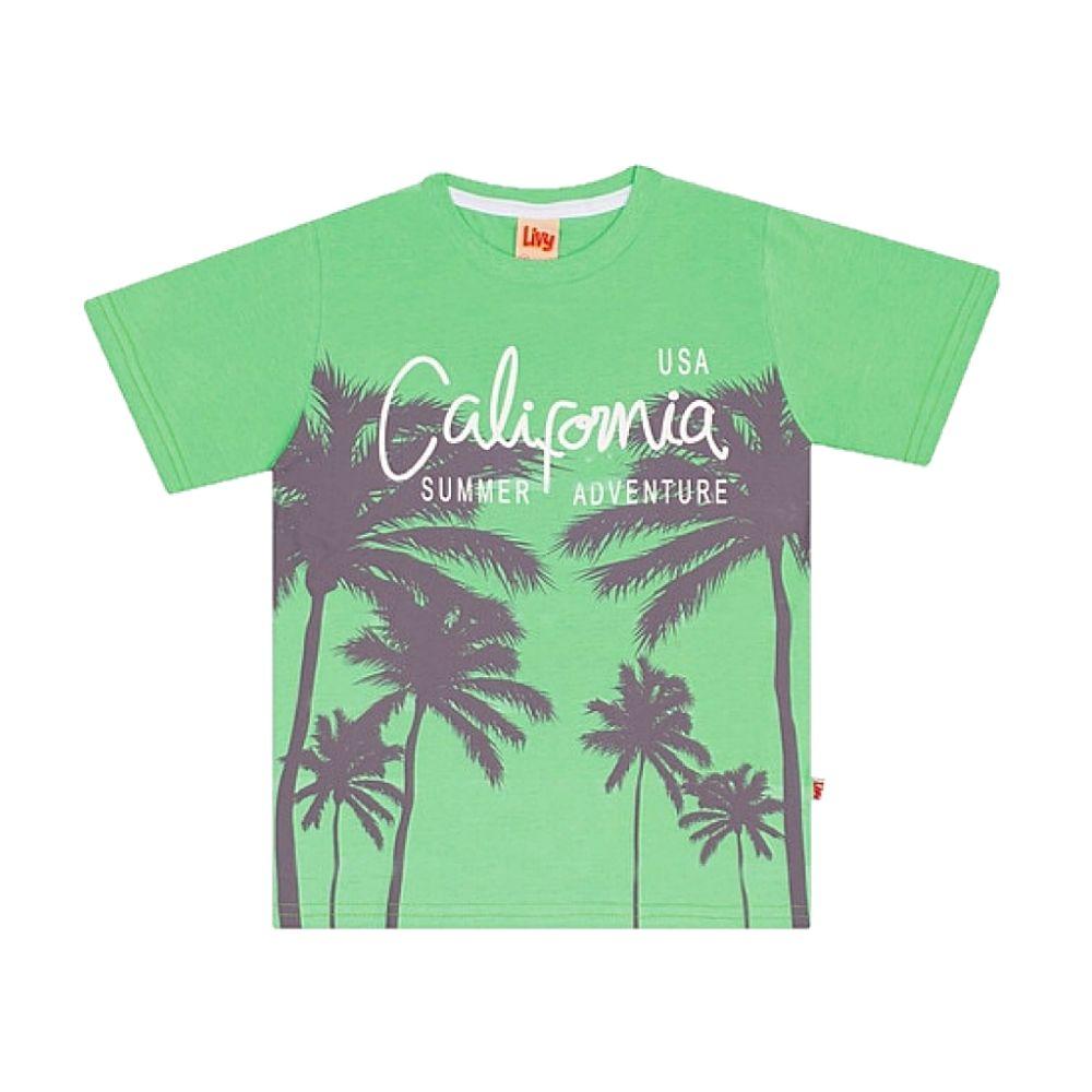Camiseta Infantil Califórnia-Livy