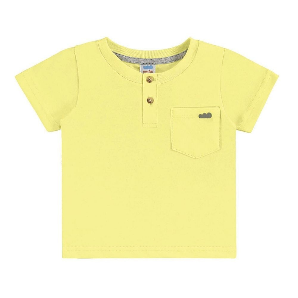 Camiseta Infantil com Peitilho- Marlan