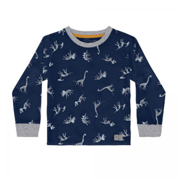 Camiseta Infantil Dinossauro-Trick Nick