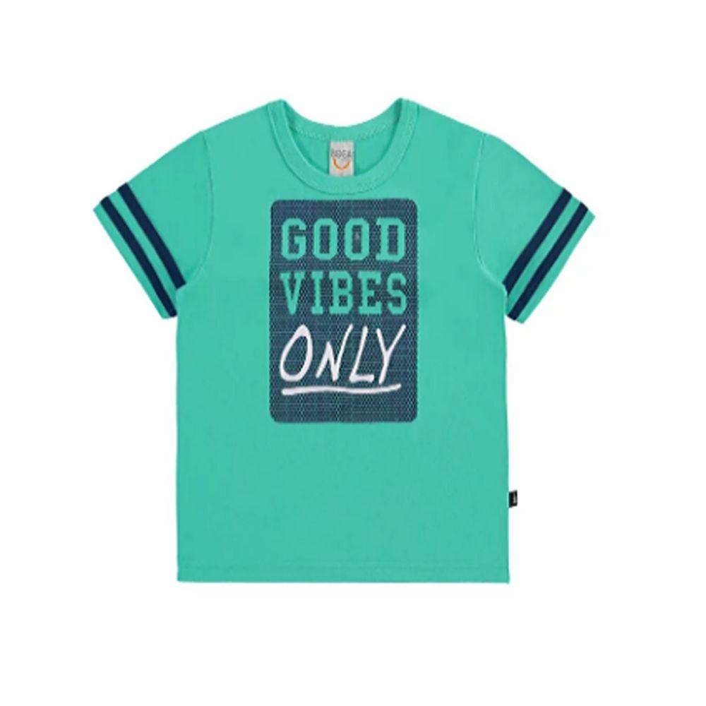 Camiseta Infantil Good Vibes- Boca Grande