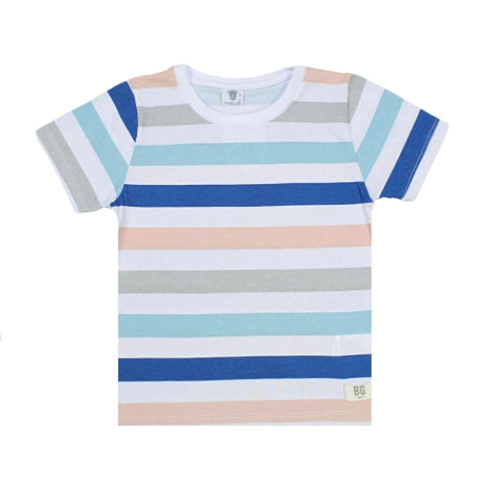 Camiseta Infantil Listrada - By Gus