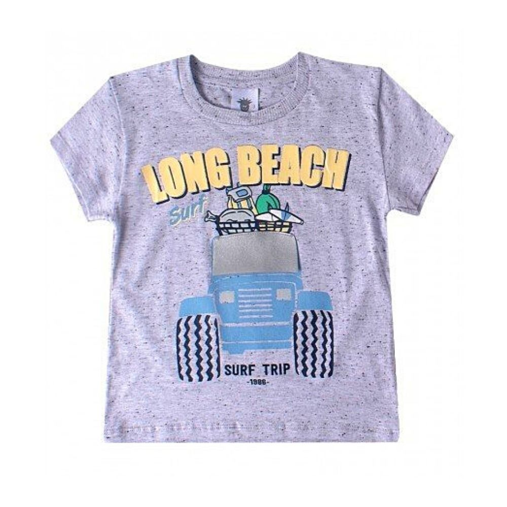 Camiseta Infantil Long Beach- By Gus