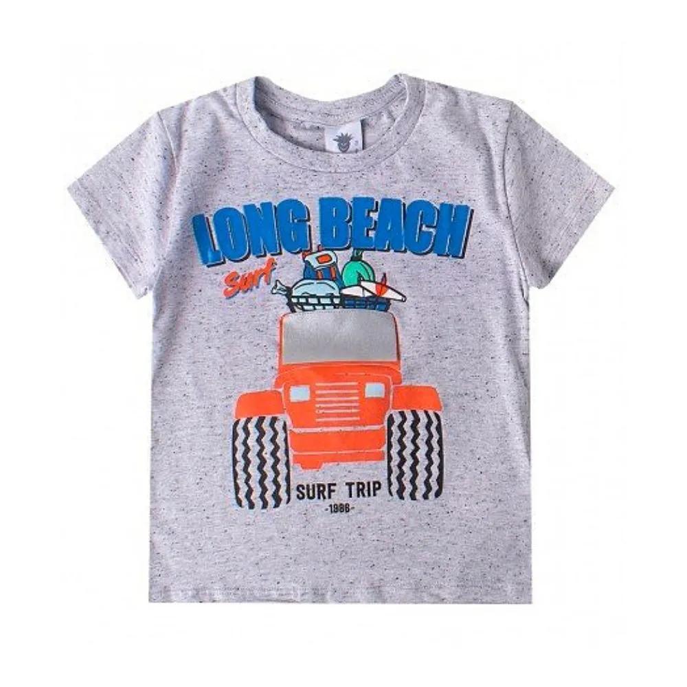 Camiseta Infantil Long Beach- By Gus