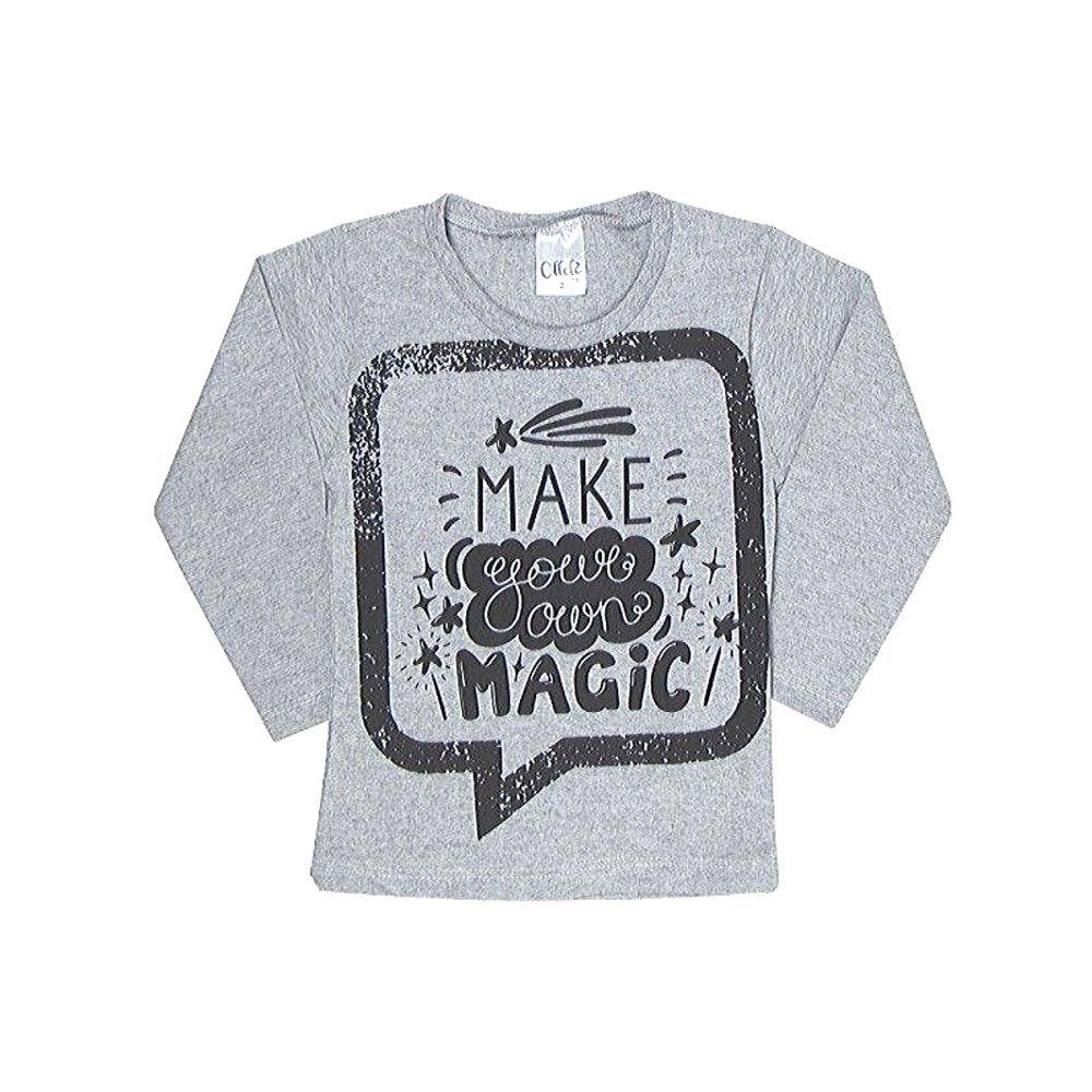 Camiseta Infantil M/L Magic-Ollelê Litlle