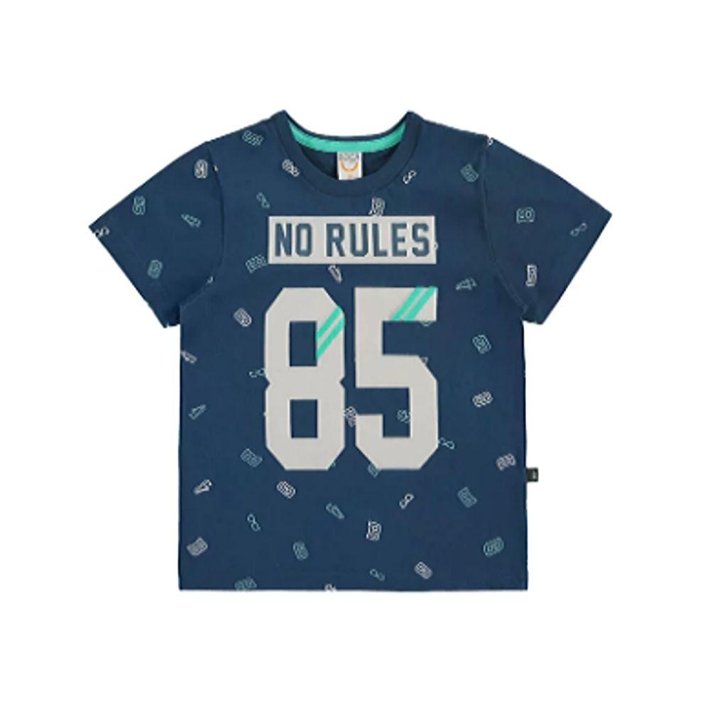 Camiseta Infantil No Rules- Boca Grande