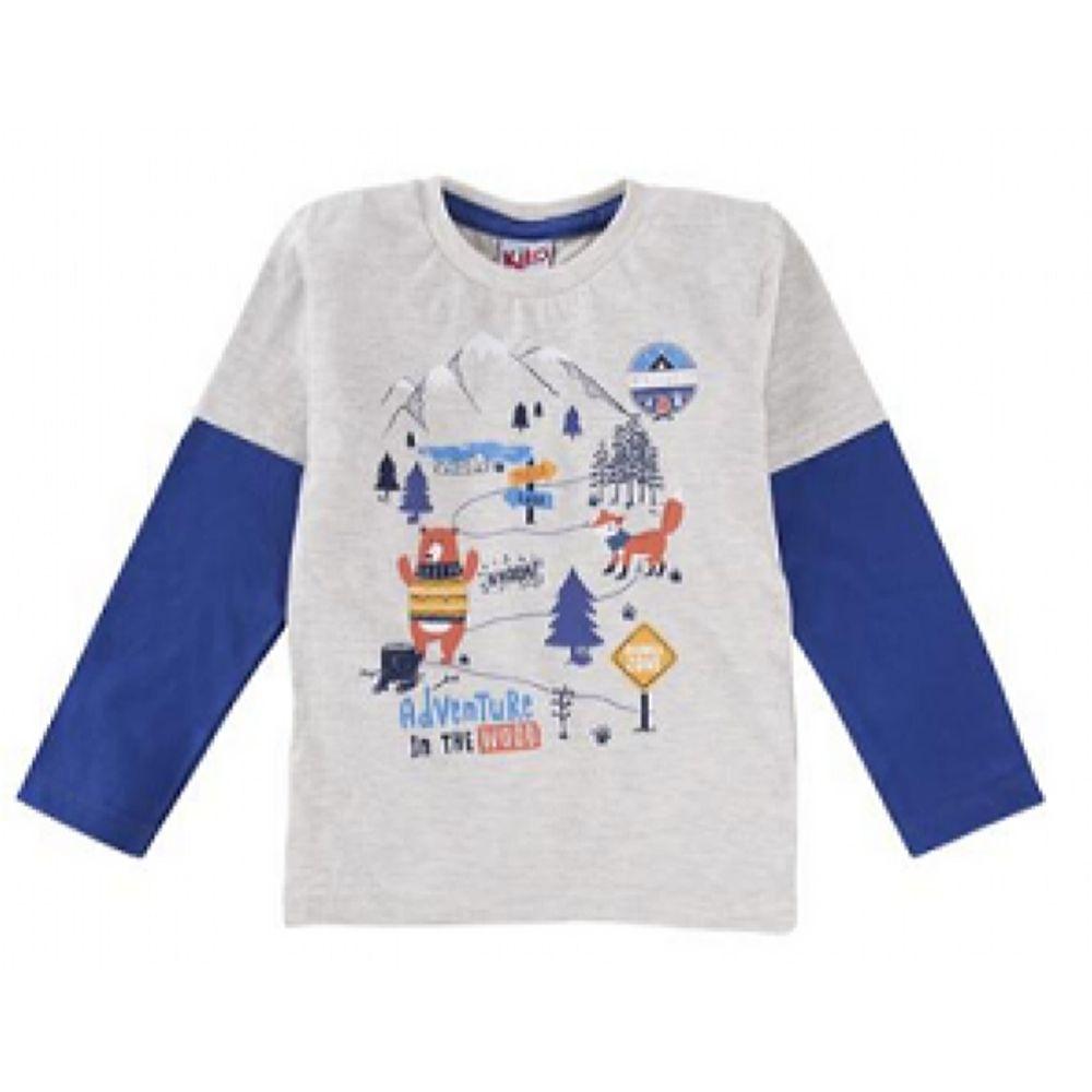 Camiseta Infantil Raposa -Kiko e Kika