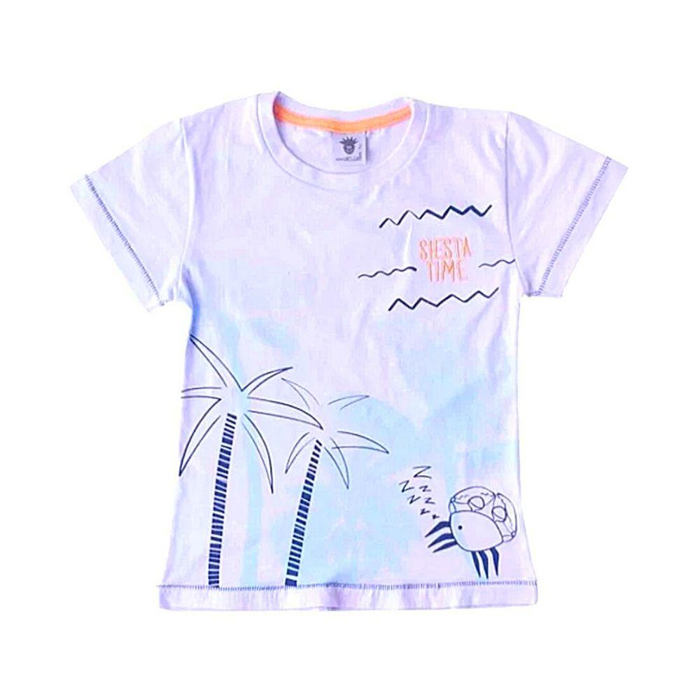 Camiseta Infantil Siesta- By Gus
