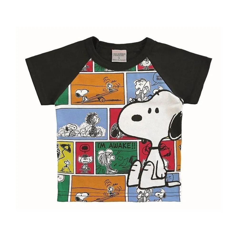 Camiseta Infantil Snoopy - Marlan