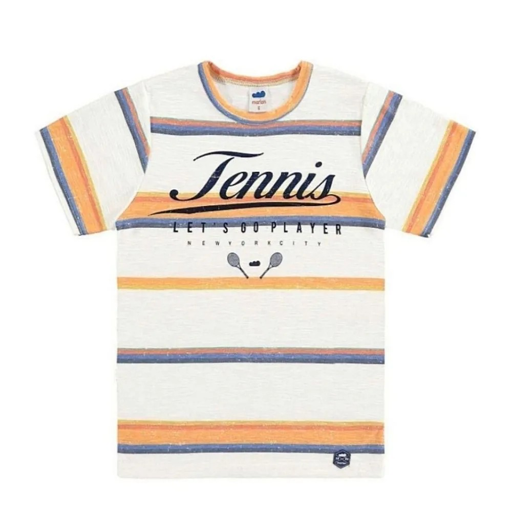 Camiseta Infantil Tênnis Retrô - Marlan