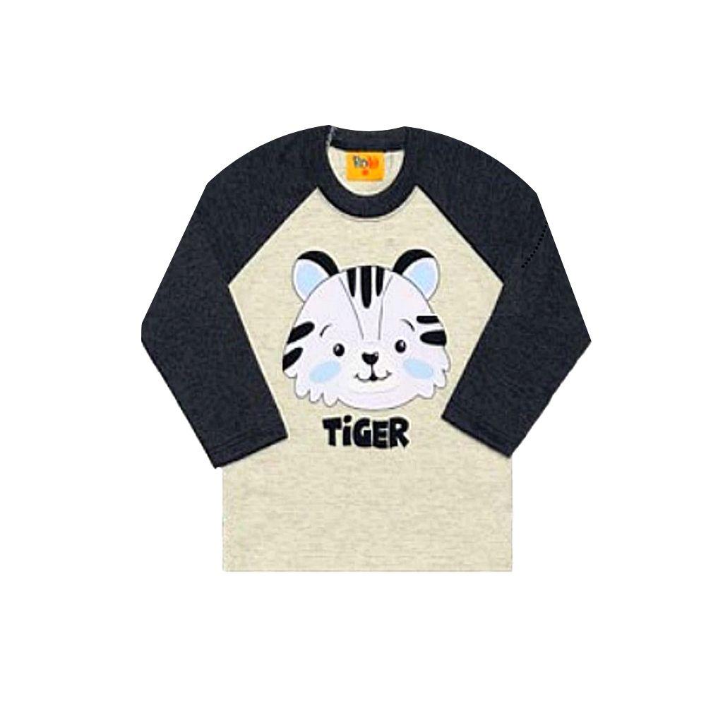 Camiseta Infantil Tiger-Rolú