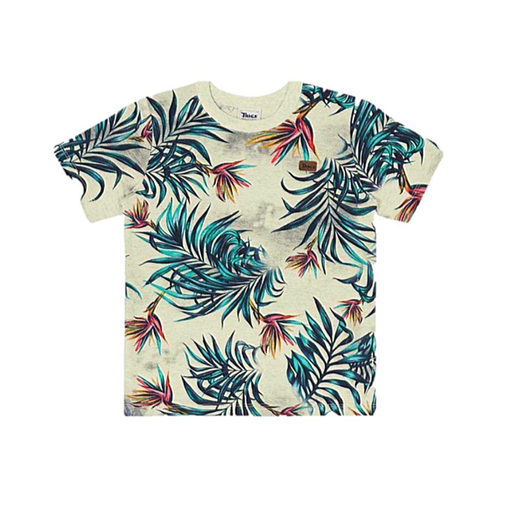 Camiseta Infantil Tropical - Trick Nick