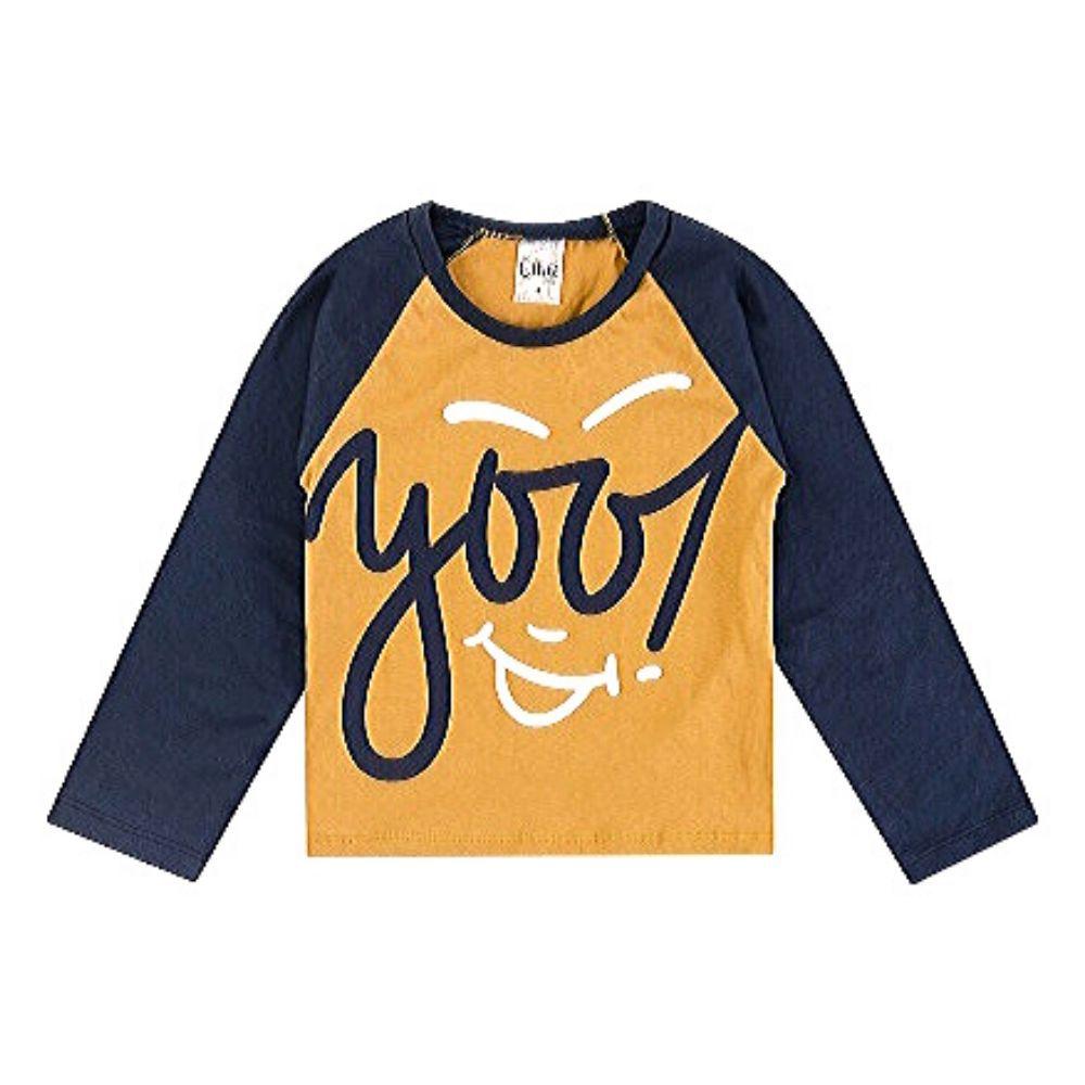 Camiseta Infantil Yooj-Ollelê Litlle