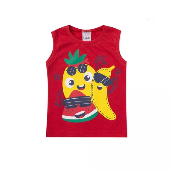 Regata Infantil Frutas- Ollelê Little