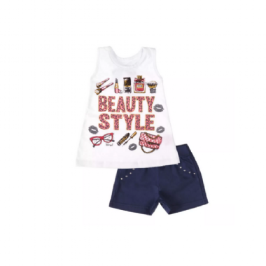 Conjunto Infantil-Beauty Style - Club B