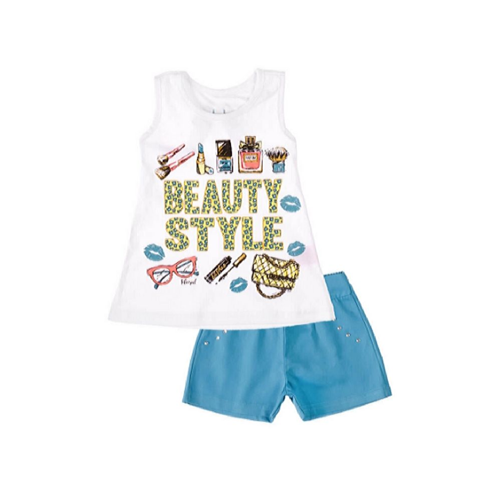 Conjunto Infantil-Beauty Style- Club B