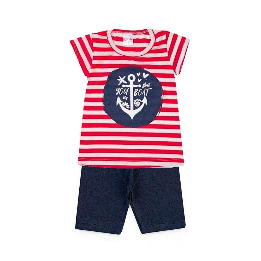 Conjunto Infantil Boat - Ollelê Little