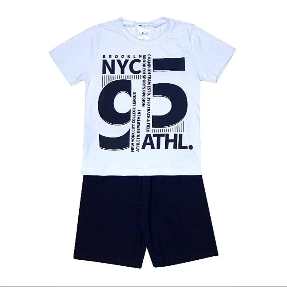 Conjunto Infantil Brooklin 95 - Ollelê Little