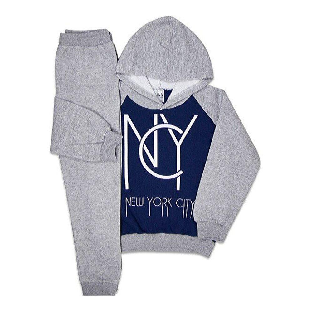 Conjunto Infantil Capuz New York City- Ollelê Little