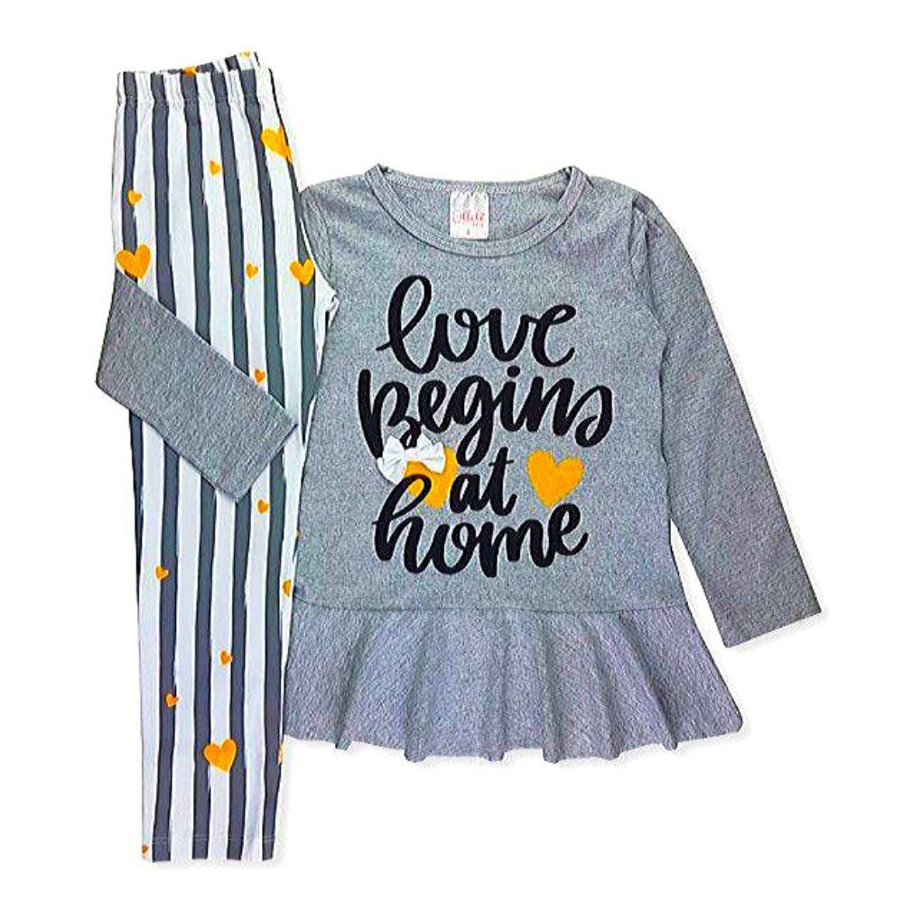 Conjunto Infantil Cotton Beggins-Ollelê Little