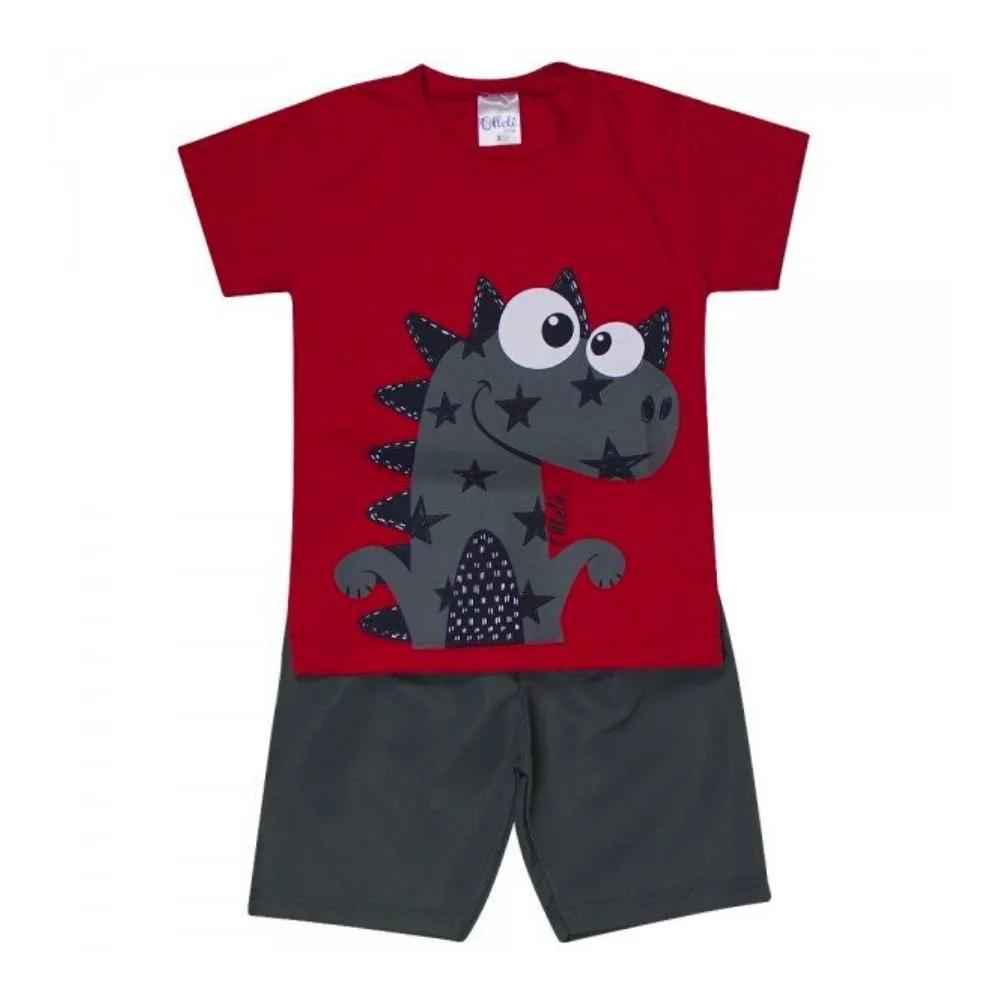 Conjunto Infantil Dino - Ollelê Little
