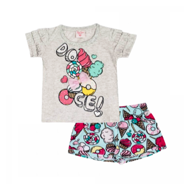Conjunto Infantil-Doces-By Gus