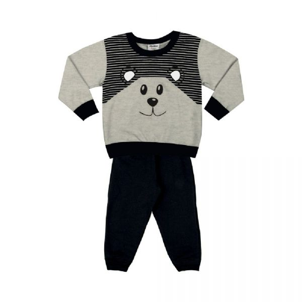 Conjunto Infantil Felpado Urso-Rovitex Kids