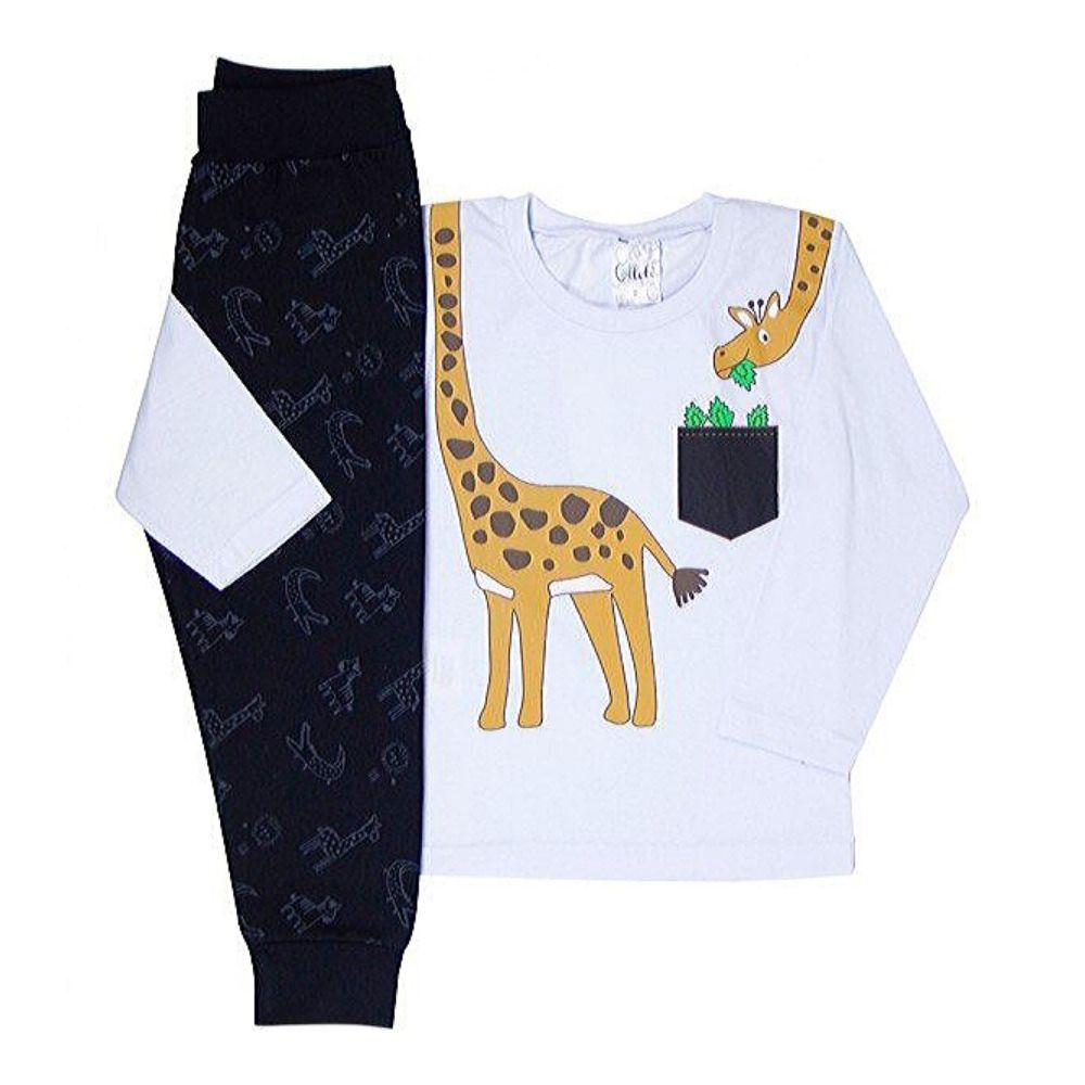 Conjunto Infantil Girafa-Ollelê Little