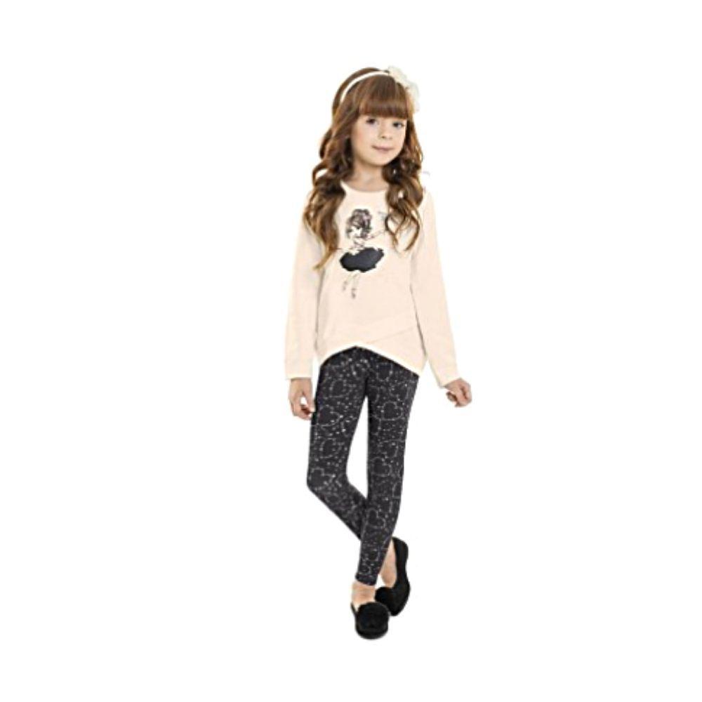 Conjunto Infantil Girl Star-Minore