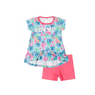 Conjunto Infantil-Good Floral - Club B