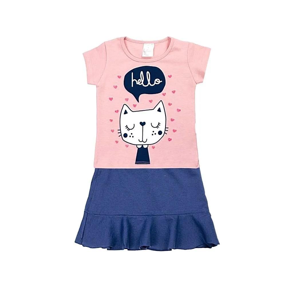 Conjunto Infantil Hello- Ollelê Little