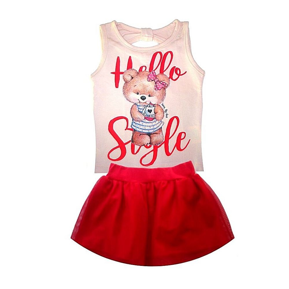 Conjunto Infantil Hello Style- By Gus