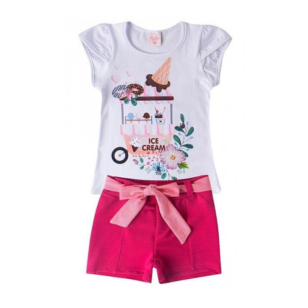 Conjunto Infantil Ice Cream - By Gus