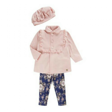 Conjunto Infantil Casaco- Color Mini