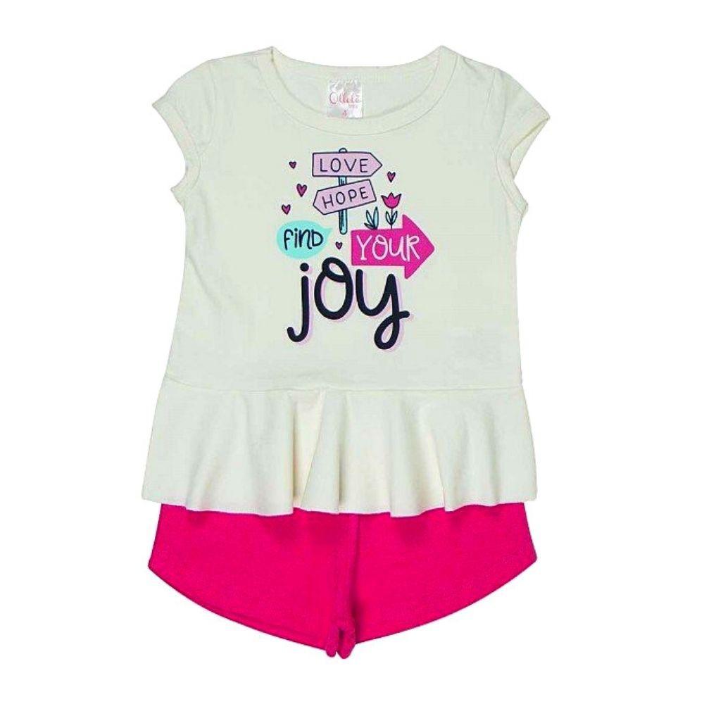 Conjunto Infantil Joy - Ollelê Little