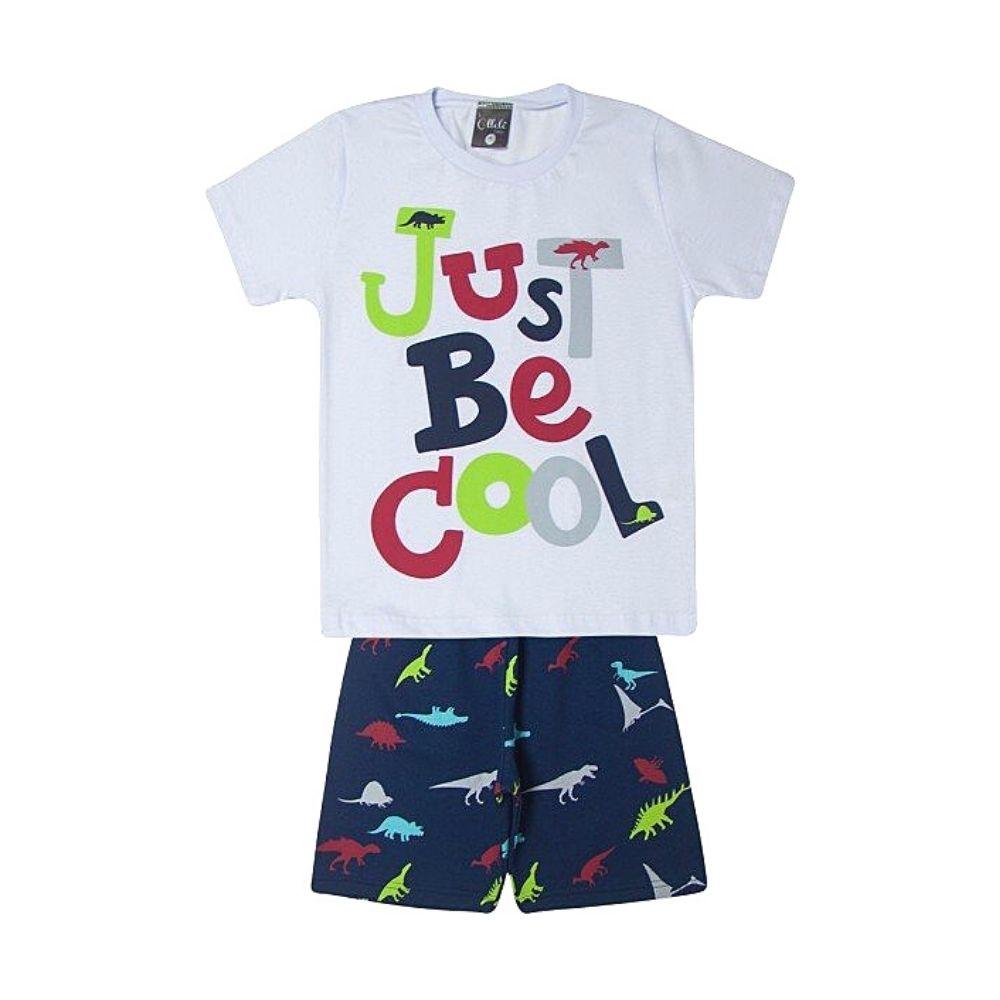 Conjunto Infantil Just Be Cool - Ollelê