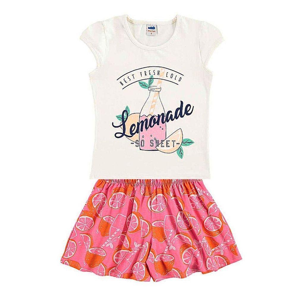 Conjunto Infantil Lemonade - Marlan