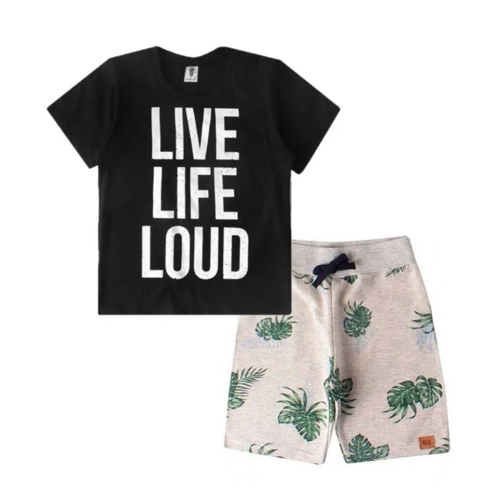 Conjunto Infantil Life Loud- By Gus
