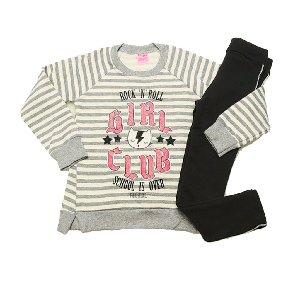 Conjunto Infantil Moletom Girl Club-For Girl