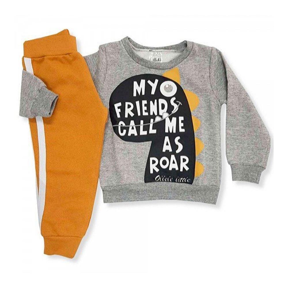 Conjunto Infantil Moletom My Friends-Ollelê Little