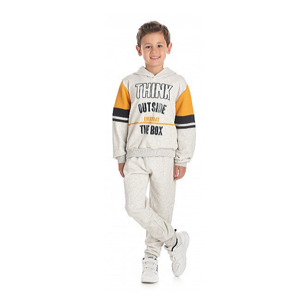Conjunto Infantil Moletom Think-By Gus